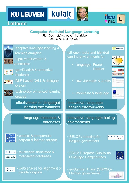 phd thesis in computer assisted language learning Use of computer assisted language learning this thesis is brought to you for free and open access by the education and human development at digital commons.